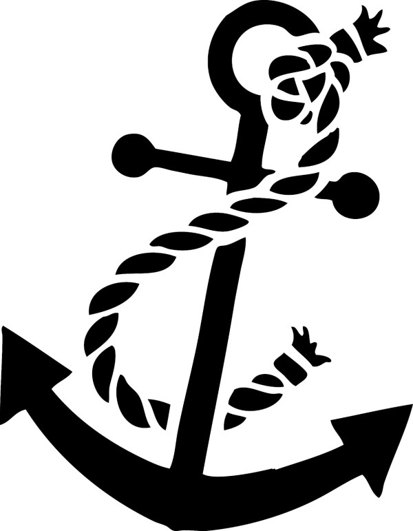 vector anchor - clipart