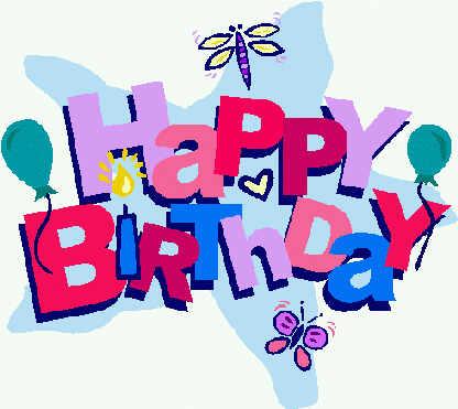 Gambar Happy Birthday  ClipArt Best
