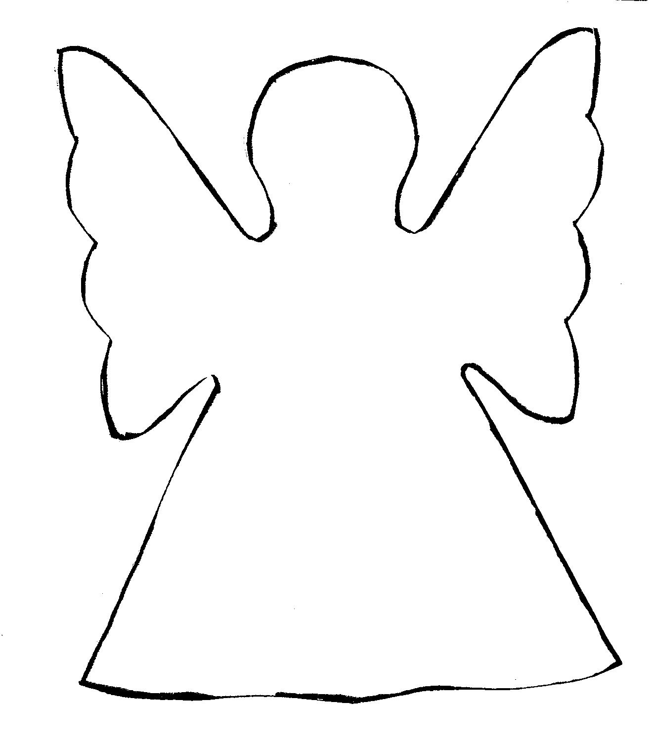 Angel Templates For Kids