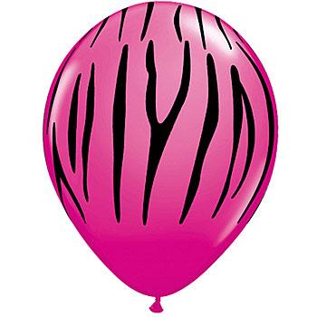 pink zebra - clipart
