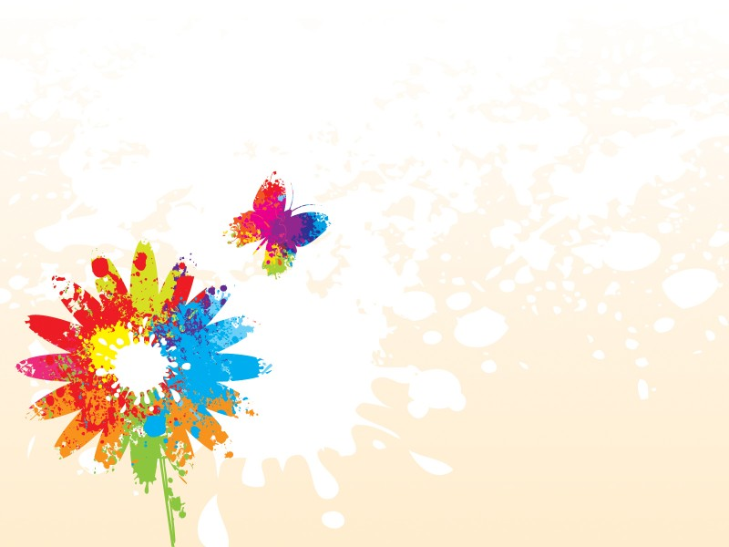 Background Flower Design For Power Point ClipArt Best