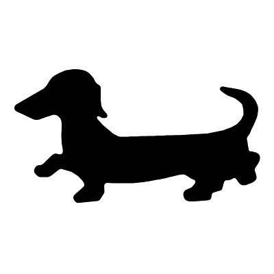 dachshund silhouette clip art