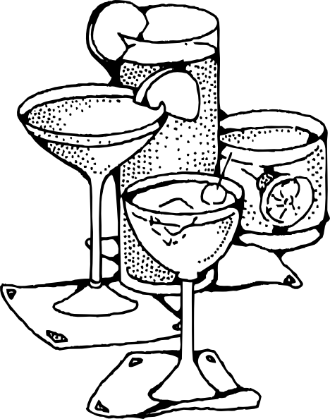 Cocktail Clipart Drinking Glass