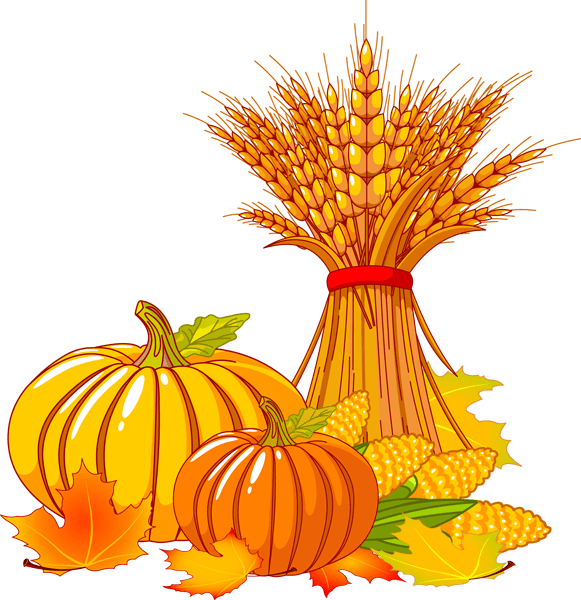 fall pumpkin - clipart
