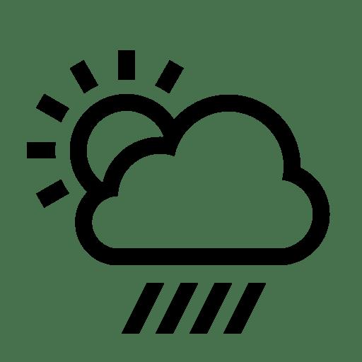 Rain Clipart Sunny Weather