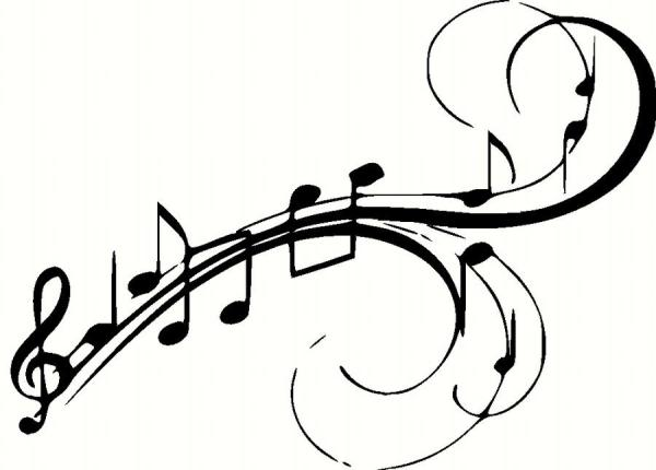 musical notes vinyl wall decal