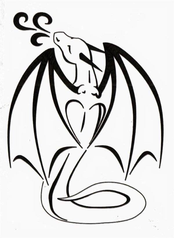Dragon Love Tattoo ClipArt Best ClipArt Best