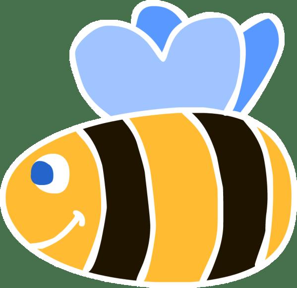 free bee clip art - clipart