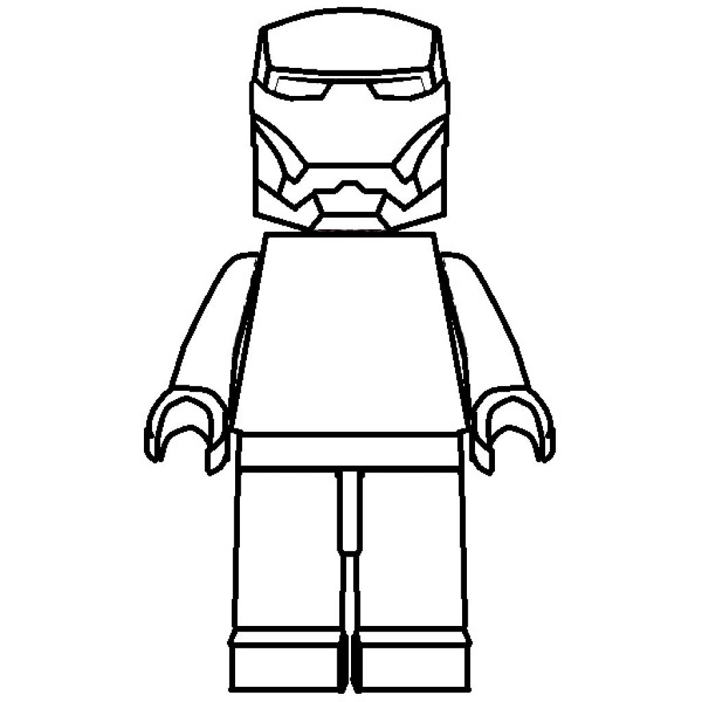 Lego Figure Printable