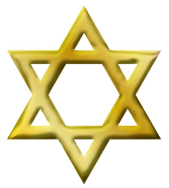 jewish star of david - clipart
