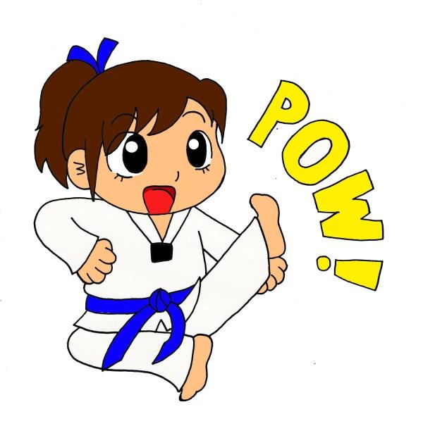 Tae Kwon Do Clip Art