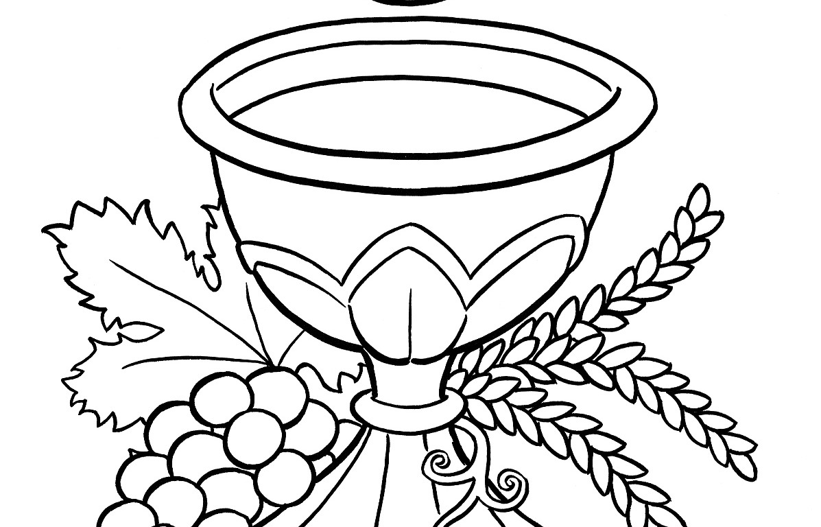 Chalice Coloring Page Coloring Pages