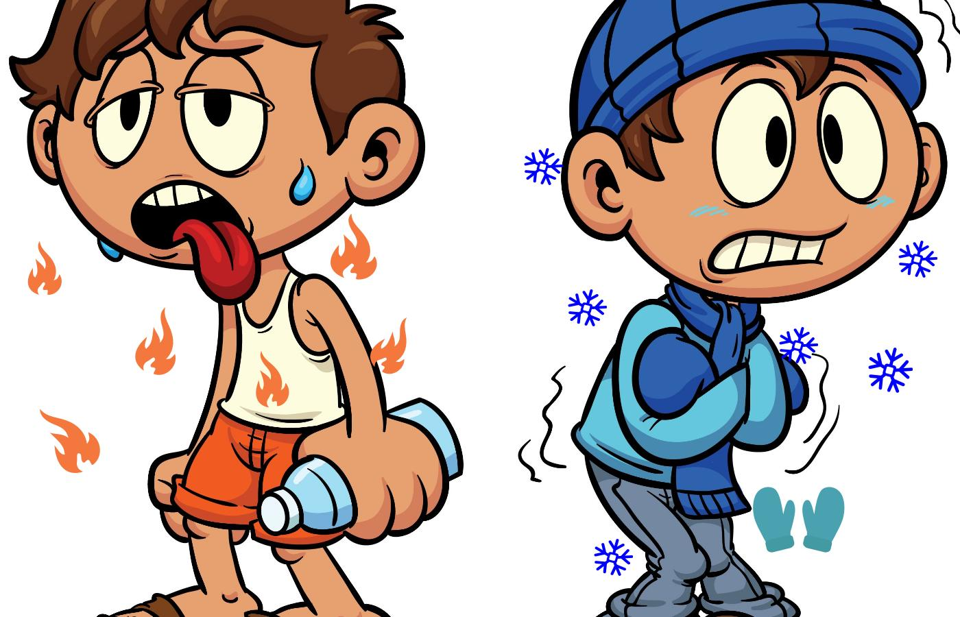 Hot And Cold Clip Art Cliparts