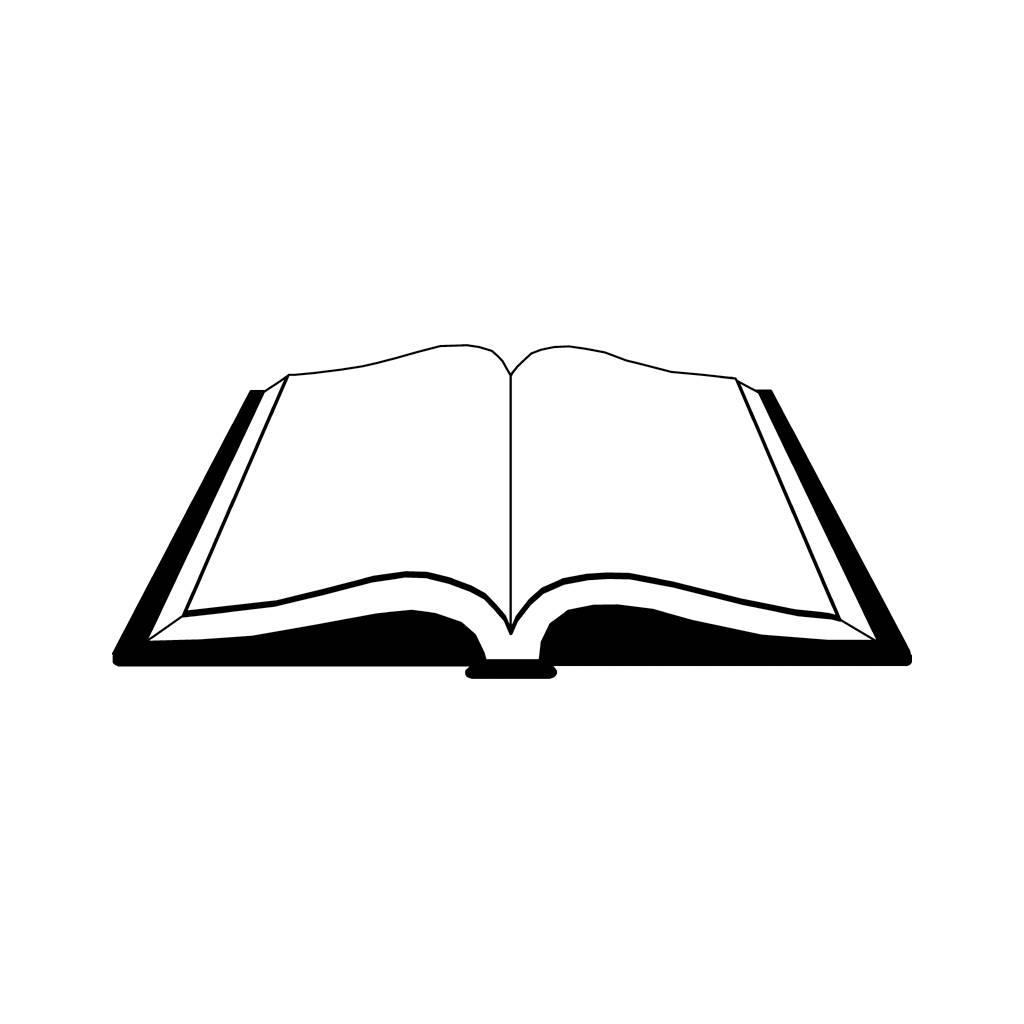Vector Open Book