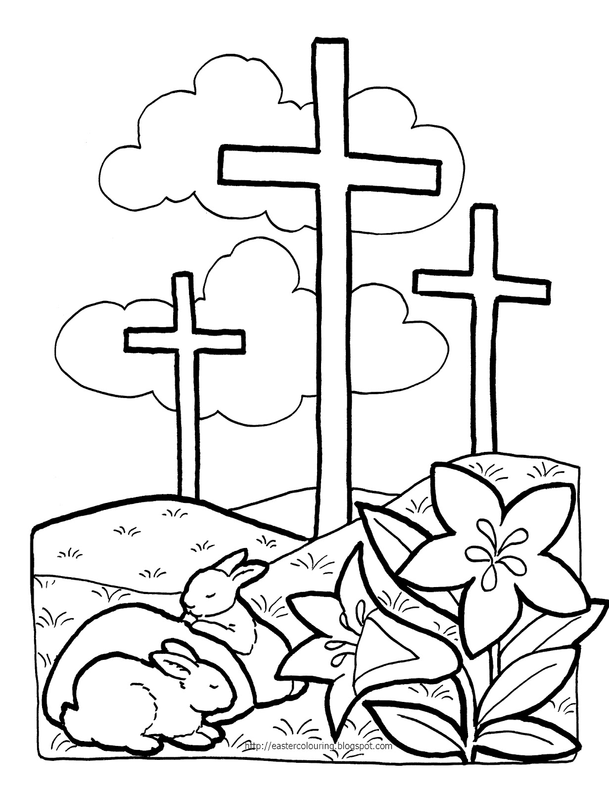 Religious Easter Sunday Clip Art