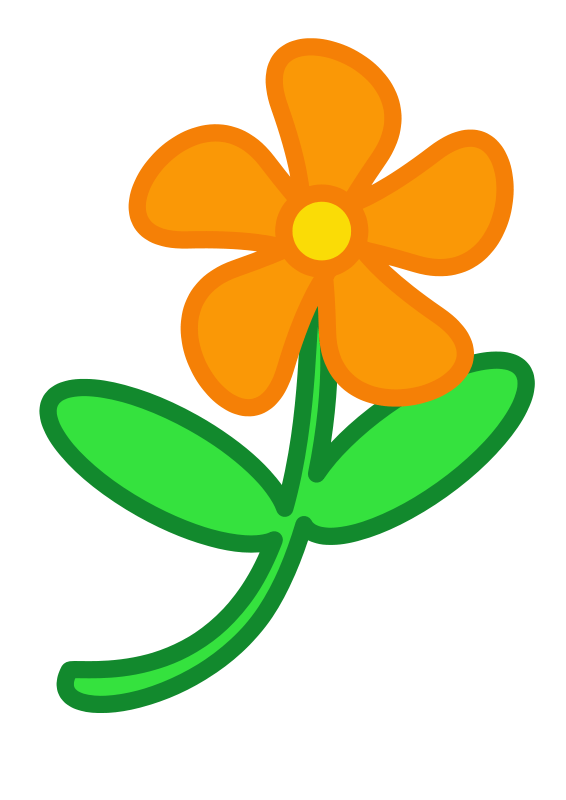 free simple flower clip art - clipart