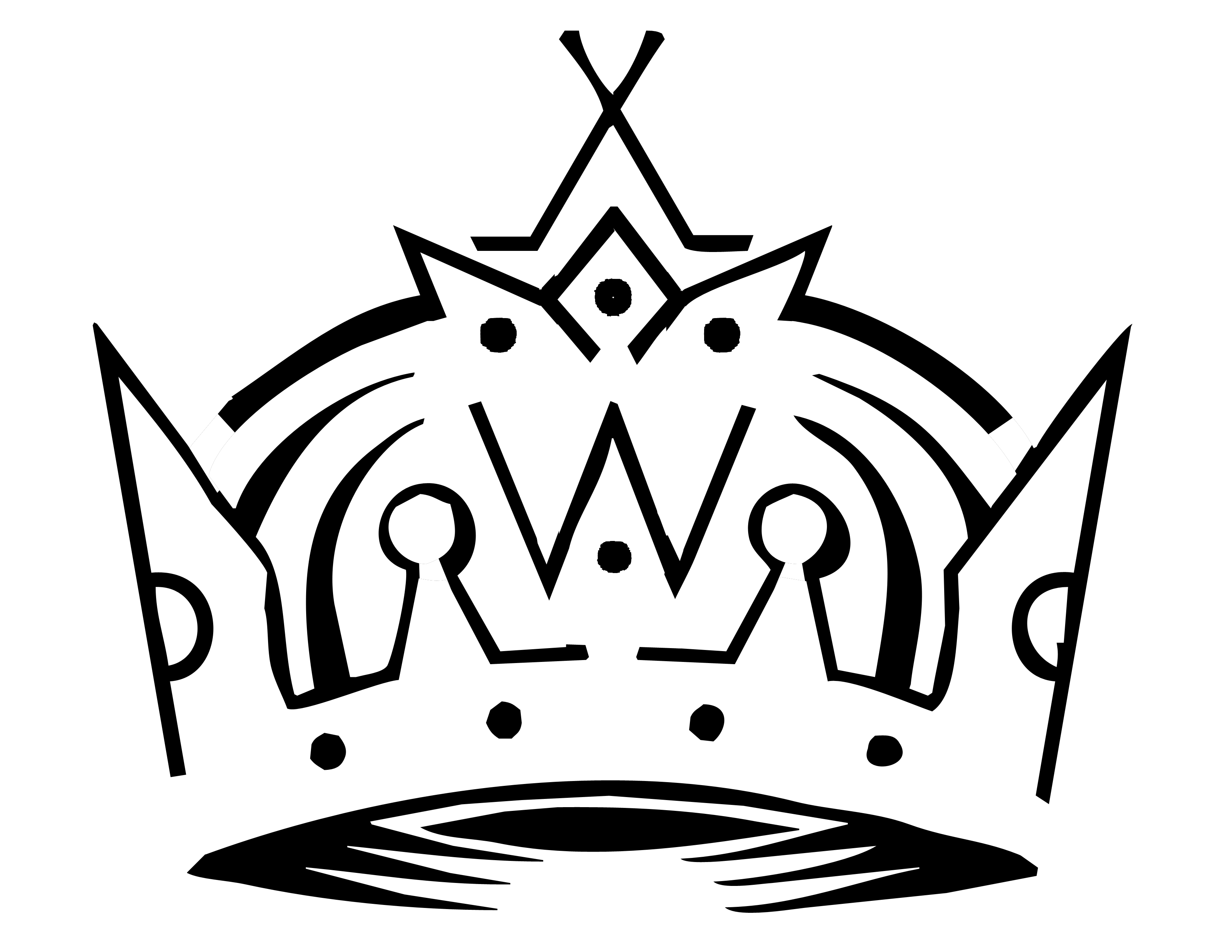 Crown S King Pumpkin Stencils Hd Picture