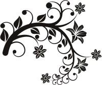 Floral Wall Sticker - ClipArt Best