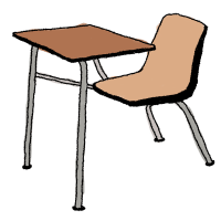 Cartoon Student Desk   www.imgkid.com - The Image Kid Has It!