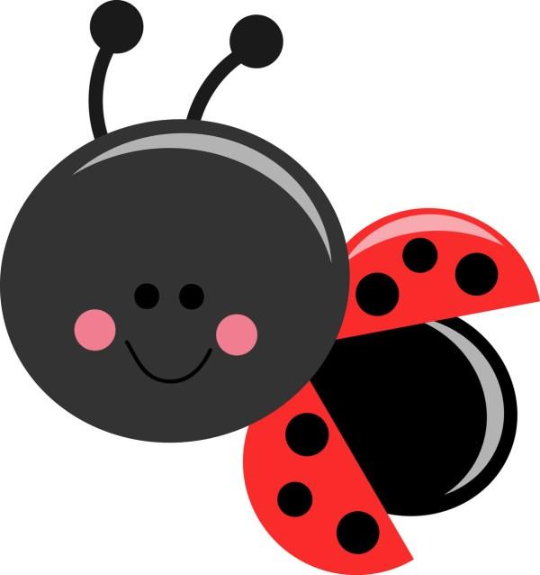 cute lady bug - clipart