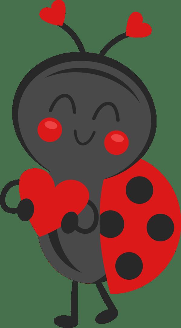 ladybug silhouette clip art - clipart