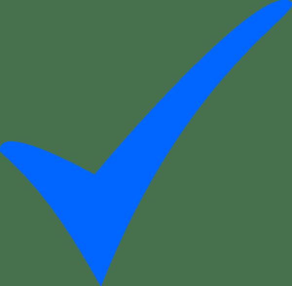 tick symbol - clipart