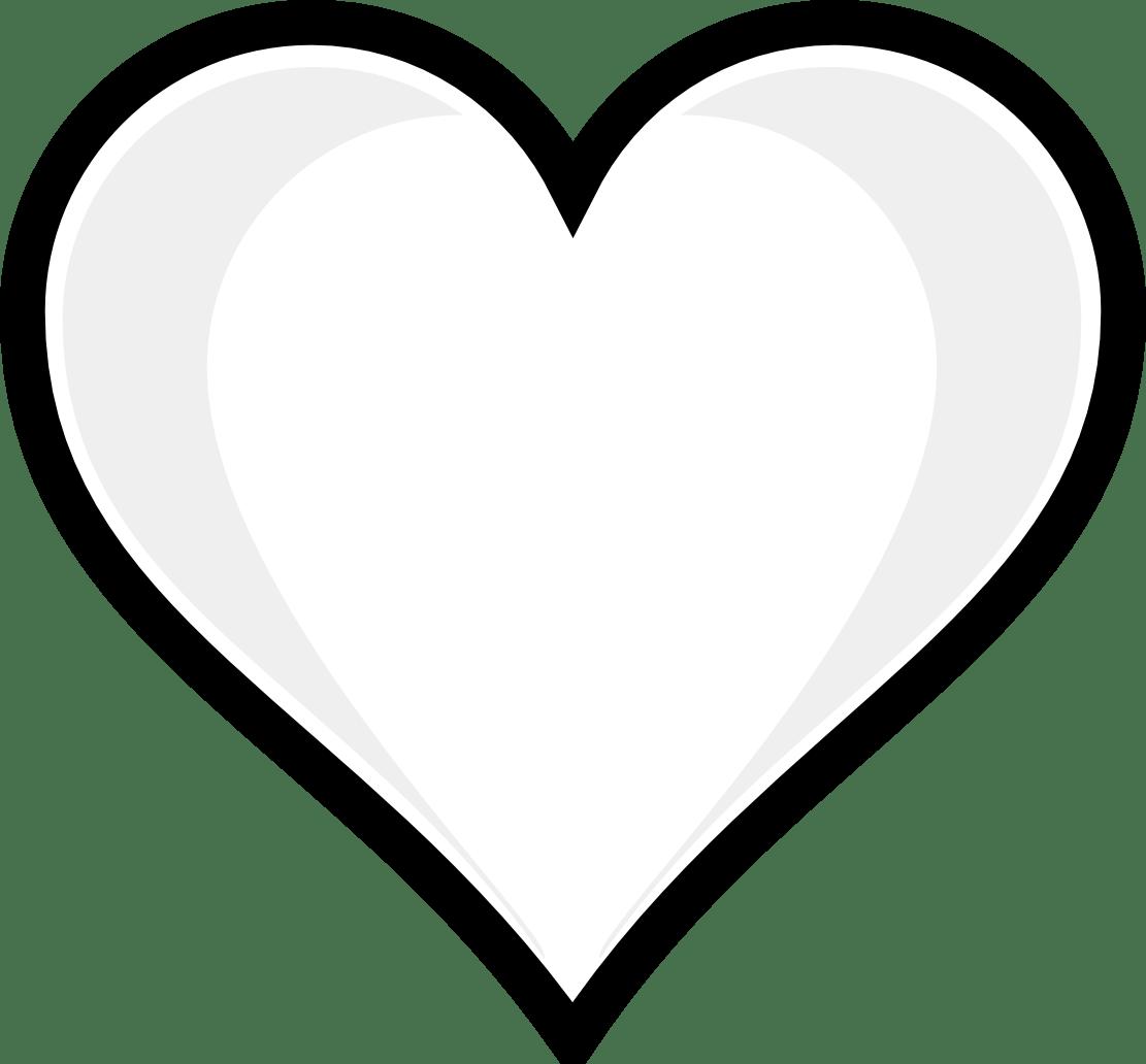 Black Heart Drawing