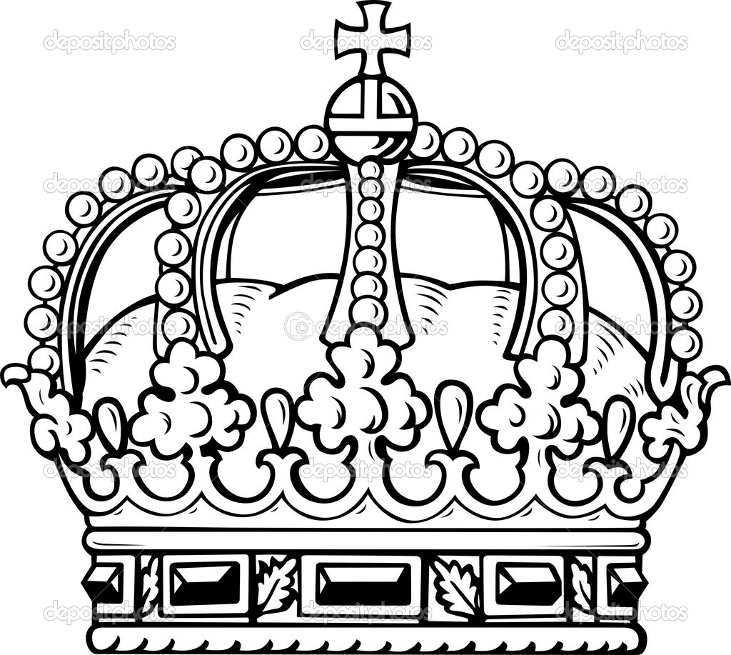 Royal Queen Crown Drawing