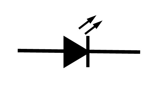 circuit symbol for led