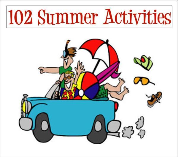 Summer Activities Clip Art ClipArt Best