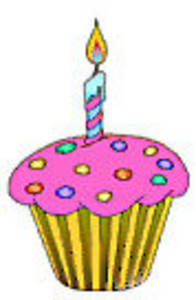 birthday candle - clipart