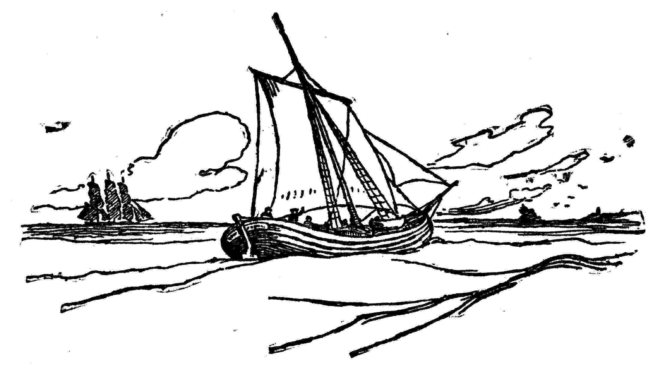 Sailboat Sketches