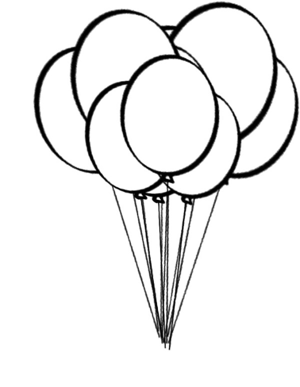 free printable balloons - clipart