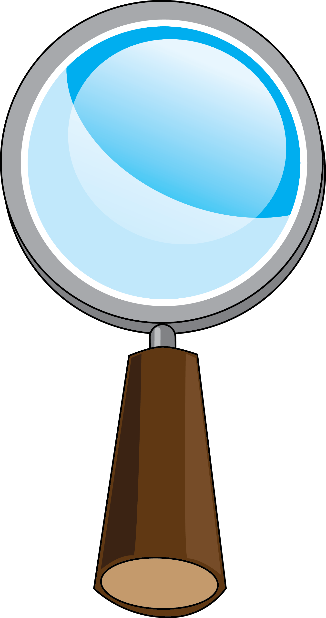 Clipart Science Magnifying Glass
