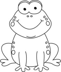 Black And White Frog ClipArt Best