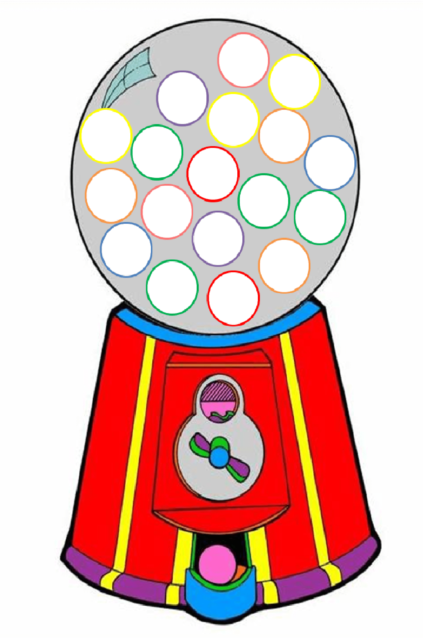 Bubble Gum Machine Clip Art