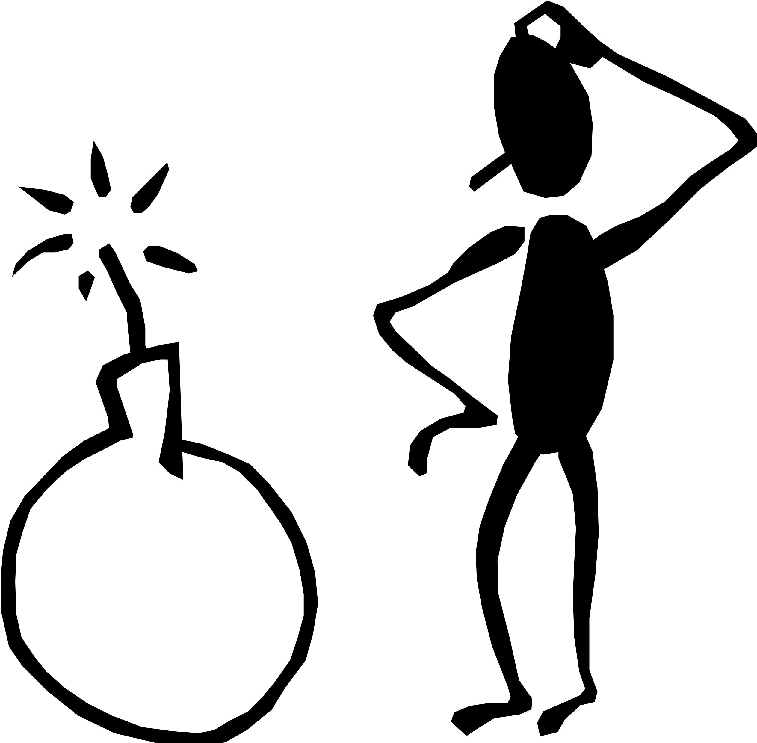 Confused Person Clipart