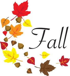 happy fall clip art - clipart