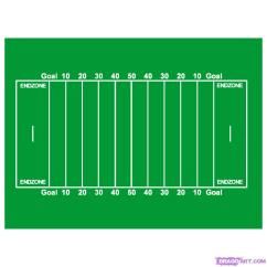 Diagram Of Football Ground With Measurements 99 Jeep Grand Cherokee Wiring Field Clipart Best