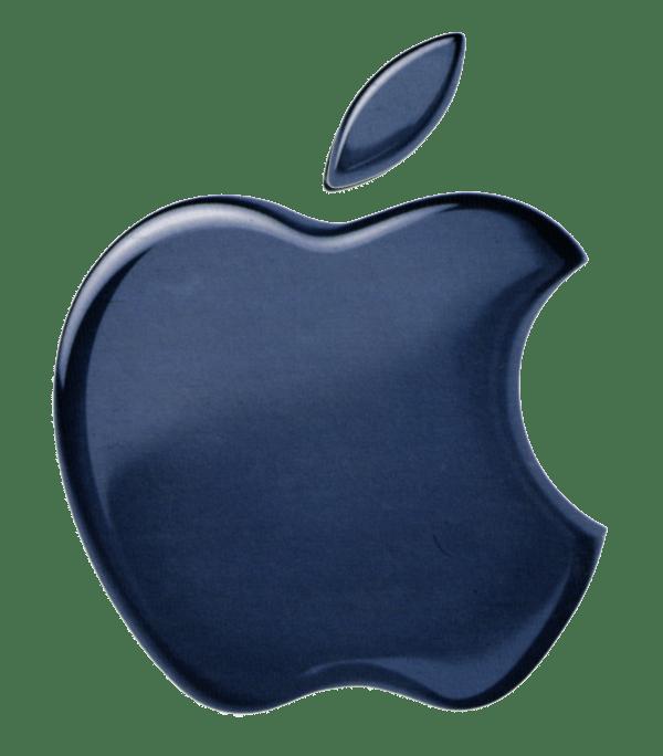 Apple Logo Black - Clipart