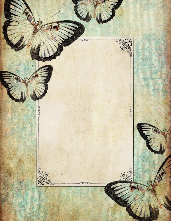 Butterfly Borders - Clipart