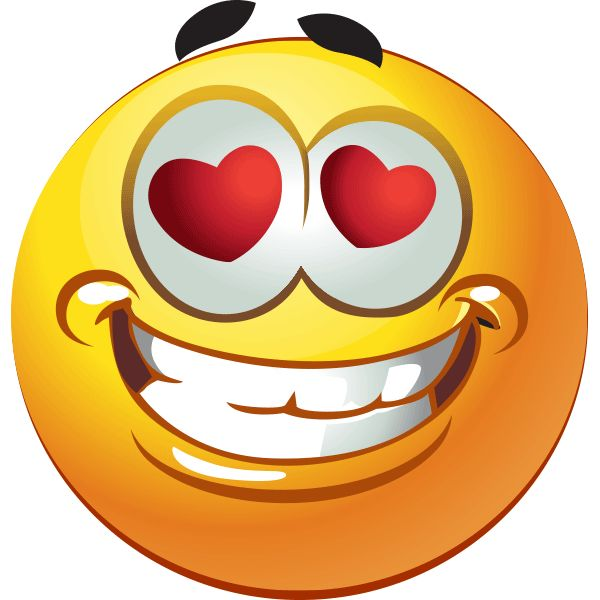 love smilies - clipart
