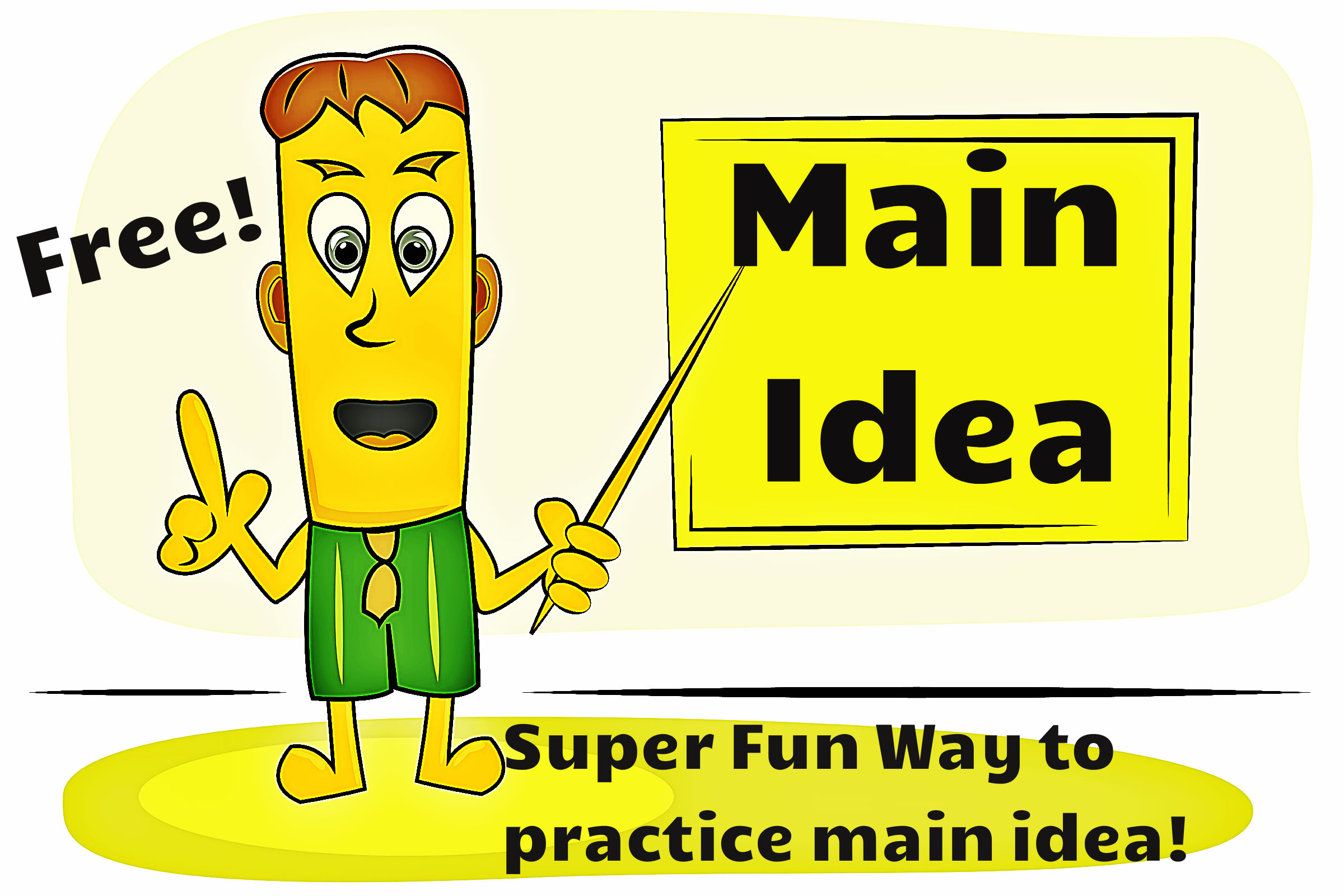 Main Idea First Grade Powerpoint