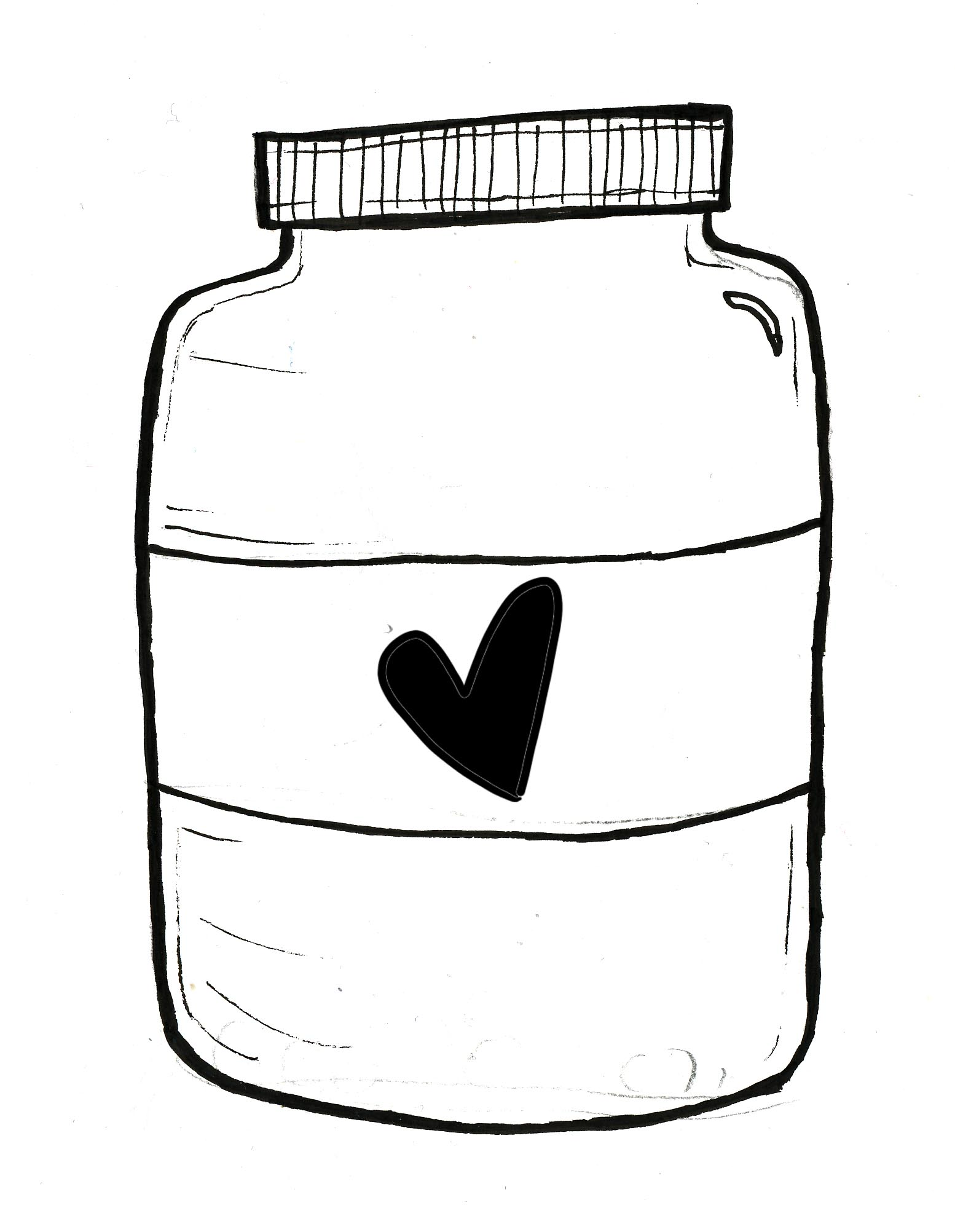 Jelly Jars Clipart