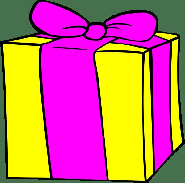 birthday present clip art - clipart