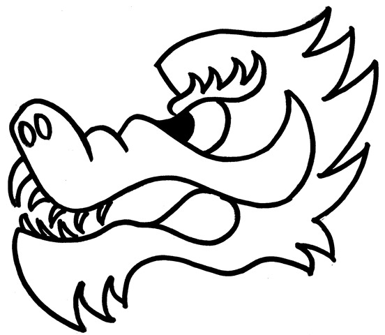 Gallery For > Chinese New Year Dragon Head Template