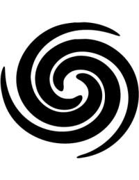 Swirl Stencil - ClipArt Best
