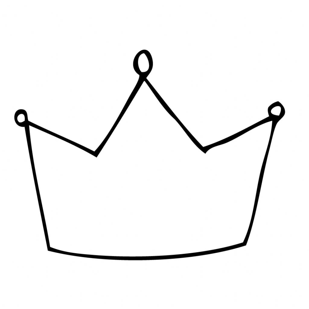 Simple Crown Drawing