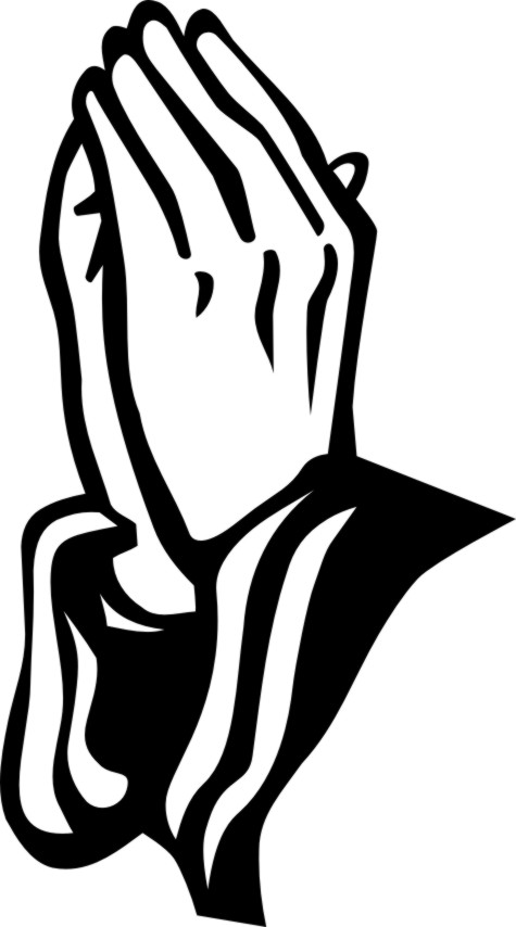 printable praying hands - clipart