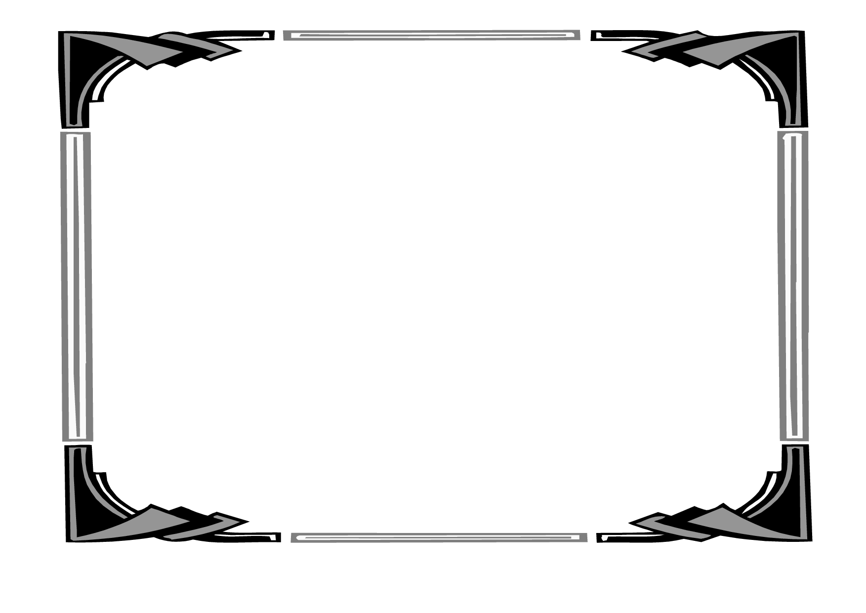 Certificate Borders For Microsoft Word